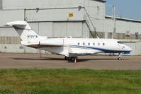 N125TM @ EGNX - Challenger 300 at EMA