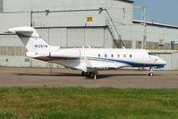 N125TM @ EGNX - Challenger 300 at EMA