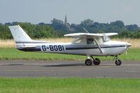 G-BGBI @ EGBG - Cessna F150L at Leicester