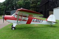 G-BREY @ EGBG - Taylorcraft BC12D at Leicester