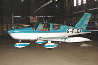 G-FLEA @ EGBG - Socata TB10 at Leicester