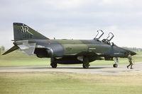 68-0554 @ EGWZ - 10th TRW RF-4C leaving the last chance point at RAF Alconbury - by FBE
