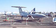 N4119X @ EDDV - Piper PA-42-1000 Cheyenne 400 at the ILA 1988, Hannover