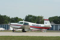 N6985V @ KOSH - Mooney M20F - by Mark Pasqualino