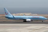 D-AHFN @ GCTS - Hapag Fly 737-800 - by Andy Graf-VAP