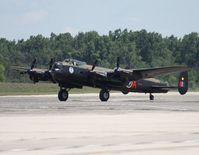 C-GVRA @ YIP - Avro Lancaster