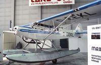 D-EEKL @ EDDV - Piper PA-18-150 Super Cub at the Internationale Luftfahrtaustellung ILA 1988, Hannover - by Ingo Warnecke