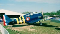 F-AZHE @ LFFQ - North American NA-68 (posing as a French navy Hellcat) at the Meeting Aerien La-Ferte-Alais, Cerny 1997