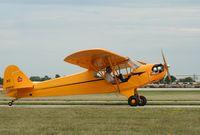 N21822 @ KOSH - Piper J3C-65 - by Mark Pasqualino