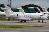 9M-TAN @ EGGW - Malaysian Challenger 300 at Luton - by Terry Fletcher
