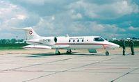 T-781 @ EDDB - Gates Learjet 35A of the Swiss AF at the ILA 1998, Berlin