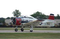 N1328B @ KOSH - North American T-28B - by Mark Pasqualino