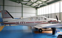 OE-FFY @ LHFM - Hungarian Aircraft Technology & Service hangar - by Attila Groszvald-Groszi