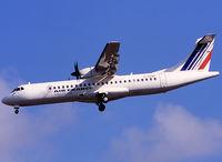 F-GVZF @ LFBO - Landing rwy 32L in full AF c/s - by Shunn311
