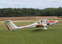 G-SAGA @ EGHP - TAXYING TO RWY 26 - by BIKE PILOT