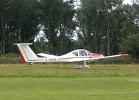 G-SAGA @ EGHP - ABOUT TO LEAVE RWY 26 - by BIKE PILOT