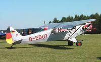 D-EDUT - Piper J-3C-65 Cub at the Montabaur airshow 2009 - by Ingo Warnecke