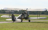D-ECTM @ EDTF - beautiful restored biplane at the homeairport - by Strega