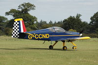 G-CCND @ EGRO - G-CCND at Heart Air Display, Rougham Airfield Aug 09 - by Eric.Fishwick