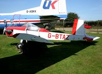 G-BTAZ @ EGSH - At Norwich Aviation Museum Never flown.