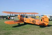 OO-SVA @ EBDT - SV-4B in its original colours sporting the penguin badge of the elementary flying school of the Belgian AF.