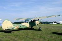 LX-PAC @ EBDT - Schaffen-Diest old timer fly in flightline.