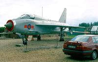 XS459 - English Electric Lightning T5 at the Fenland Aviation Museum, Wisbech