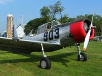 N57486 @ I80 - At the EAA fly-in - Noblesville, Indiana - by Bob Simmermon