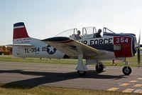 N1328B @ OSH - 1955 North American T-28B, c/n: 138354 - by Timothy Aanerud