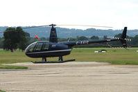G-SAIG @ EGKH - R44II at Headcorn , Kent , UK