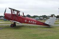 G-ACDC @ EGKH - 1933 Tiger Moth at Headcorn , Kent , UK