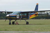 G-OHPC @ EGKH - Cessna Caravan for the local Parachute Club at Headcorn , Kent , UK