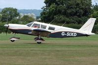 G-SIXD @ EGKH - Piper Cherokee Six at Headcorn , Kent , UK