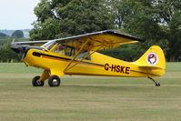 G-HSKE @ EGKH - Aviat Huskey at Headcorn , Kent , UK