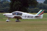 G-BCXE @ EGKH - Based Robin DR400 at Headcorn , Kent , UK