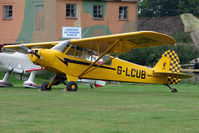 G-LCUB @ EGKH - 1959 Piper PIPER L18C at Headcorn , Kent , UK