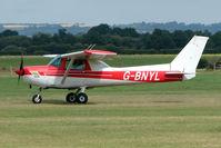 G-BNYL @ EGKH - Cessna 152 at Headcorn , Kent , UK