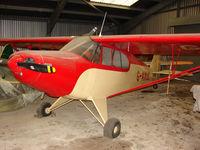 G-AXUC @ EGKH - Piper PA-12 at Headcorn , Kent , UK