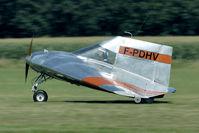 F-PDHV @ EBDT - strange aircraft - by Joop de Groot