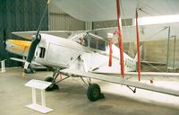 G-ADOT - DeHavillland D.H.87B Hornet Moth at the DeHavilland Heritage Museum, London-Colney