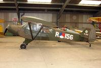 G-ROVE @ EGKH - 1957 Piper PIPER L21B in Dutch AF livery at Headcorn , Kent , UK