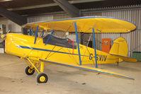 G-SVIV @ EGKH - 1948 Sn De Constructions Aeronautiques Du Nord STAMPE SV4C(G at Headcorn , Kent , UK