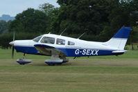 G-SEXX @ EGKH - 1978 Piper PIPER PA-28-161 at Headcorn , Kent , UK