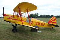 G-BWEF @ EGKH - 1946 Sn De Constructions Aeronautiques Du Nord STAMPE SV4C(G at Headcorn , Kent , UK