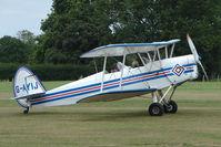 G-AYIJ @ EGKH - 1946 Sn De Constructions Aeronautiques Du Nord STAMPE SV4C(G at Headcorn , Kent , UK
