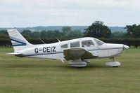 G-CEIZ @ EGKH - Piper PA-28-161 at Headcorn , Kent , UK