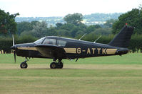 G-ATTK @ EGKH - Piper PA-28-140 at Headcorn , Kent , UK