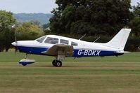 G-BOKX @ EGKH - Piper PA-28-161 at Headcorn , Kent , UK