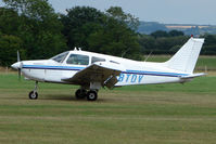 G-BTDV @ EGKH - Piper PA-28-161 at Headcorn , Kent , UK
