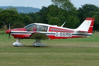 G-BBMB @ EGKH - Robin DR400 at Headcorn , Kent , UK